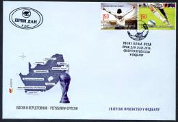 BOSNIA BOSNIE 2010 - Enveloppe FDC 1er Jour - Football World Cup Afrique Sud South Africa - Coupe Du Monde