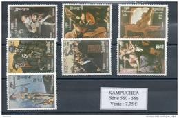 Kampuchéa.  Tableaux - Kampuchea