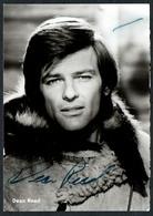 C4393 - Orig. Dean Reed - Foto Autogramm Autogrammkarte - Autogramme & Autographen
