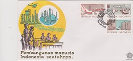 Indonesia 1989 Industries  FDC - Indonesia