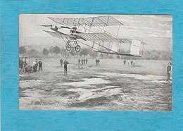 Aviateur Henri Farman Battant Le Record De L'Aéroplane. - Aviateurs