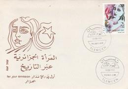 Algérie FDC 1992 Yvert  1013 Journée De La Femme - Algeria (1962-...)