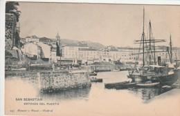***  PAIS VASCO  ***   SAN SEBASTIAN Entrada Del Puerto  Unused/neuve TTB - Guipúzcoa (San Sebastián)