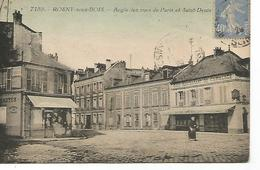 Ac13/      93   Rosny Sous Bois    Angle Des Rues De Paris & St-denis   (animations) - Rosny Sous Bois