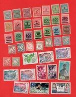 Lot De 41 Timbres MONDE - Stamps