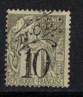 NOUVELLE CALEDONIE           N°  YVERT   40  OBLITERE       ( O   3/57 ) - Nouvelle-Calédonie