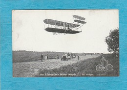 L'Aéroplane Wilbur Wilbur. - Un Virage. - Aviateurs