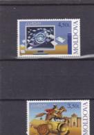 2008 - Europa Cept - Moldova - Moldavia - Moldavie - N°YT 533 Et 534** - Europa-CEPT