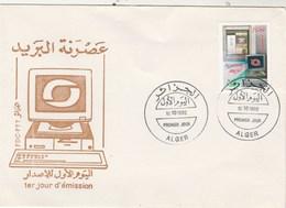 Algérie FDC 1992  Yvert 1026 Journée De La Poste - Algeria (1962-...)