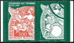 France Philatélie N° 3136 A ** Journée Du Timbre 1998 - Type Blanc + Logo ( Timbre De Carnet ) - Tag Der Briefmarke