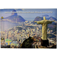 Vatican, 2 Euro, 28ème Journée Mondiale De La Jeunesse, 2013, Enveloppe - Vatican