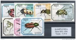 Kampuchéa. Insectes - Kampuchea