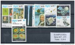 Kampuchéa. Astronomie - Kampuchea