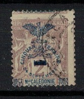 NOUVELLE CALEDONIE           N°  YVERT   81 (Piquage Décalé)   OBLITERE       ( O   3/57 ) - Nuova Caledonia