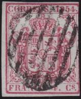 ESPANA  .      Yvert   29       .       O     .         Cancelled   .    /   .   Oblitéré - 1850-68 Regno: Isabella II