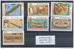 Kampuchéa.  Instruments De Musique - Kampuchea