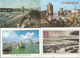 Cp , 17,  LA ROCHELLE , 5 Scans ,  LOT DE 16 CARTES POSTALES - 5 - 99 Postcards