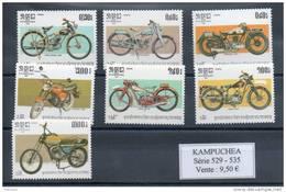 Kampuchéa.  Motos - Kampuchea