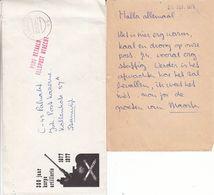 Pays Bas - Lettre Militaire Illustrée De 1979 - Oblit Veldpost - Cachet Port Betaald - Exp Vers Steenwijk - 1980-... (Beatrix)