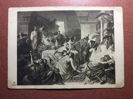 Historical Vintage Postcard 1930s By C. Otto. Gastmahl Des Belsazar. Babylon. Judaica - Illustratori & Fotografie