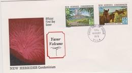 New Hebrides 1973 Tanna Island FDC - FDC