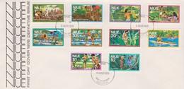 Niue 1976 Definitives FDC - Niue