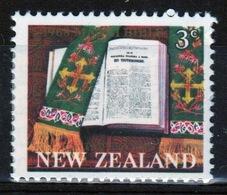 New Zealand 1968 Single Stamp To Celebrate Centenary Of Maori Bible. - New Zealand