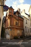 Chinon (37)- Rue Du Grand Carroi (Edition à Tirage Limité) - Chinon