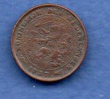 Pays Bas  -  1/2 Cents 1937 -  Km # 138 - état  TB - [ 3] 1815-… : Royaume Des Pays-Bas