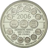 France, Médaille, L'Europe Des XXV, Dernière Année Des 12 Pays De L'Euro - Francia