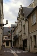 Chinon (37)- Rue Jean-Jacques Rousseau (Edition à Tirage Limité) - Chinon
