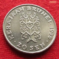 Brunei 20 Sen 1996 KM# 37 - Brunei