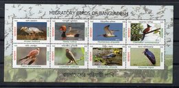 BANGLADESH - B/F - M/S - 2012 - OISEAUX MIGRATEURS - MIGRATORY BIRDS - BIRDS - OISEAUX - - Bangladesh