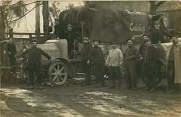 220519 - CARTE PHOTO GUERRE 1914 18 MILITARIA - Camion Cuisine TM 414 - Guerre 1914-18