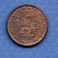 Pays Bas  -  1/2 Cents 1940 -  Km # 138 - état  TTB  -- - [ 3] 1815-… : Royaume Des Pays-Bas