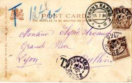 Taxe Carte Postale De Russie Du 15/07/04 Taxée à 20 C à L'arrivée - Taxes