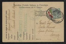 DA ZONA DI GUERRA A SAVONA - 30.1.1917. - Posta Militare (PM)