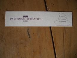 Carte Parfums Créatifs Casbah* - Cartes Parfumées
