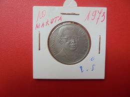 ZAIRE 10 MAKUTA 1973 - Zaïre (1971-97)
