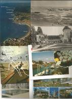 Cp , 17,  CHARENTE MARITIME , 5 Scans ,  LOT DE 38 CARTES POSTALES - 5 - 99 Postcards