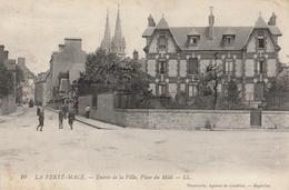 LA FERTE-MACE  Entrée De La Ville, Place Du Midi - La Ferte Mace