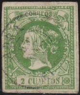 ESPANA  .      Yvert   47      .     O    .         Cancelled      .    /   .  Oblitéré - 1850-68 Royaume: Isabelle II