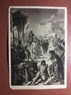 Historical Vintage Postcard 1930s By Richter. PHARAOH. Erbauung Der Pyramiden (1500 V. Chr.). Semi Nude Man - Illustratori & Fotografie