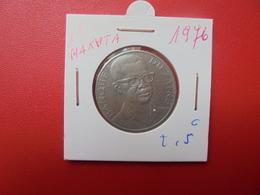 ZAIRE 10 MAKUTA 1976 - Zaire (1971-97)