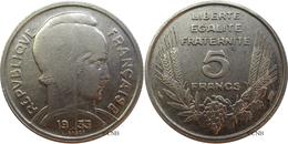 France - IIIe République - 5 Francs Bazor 1933 Grand écartement - TTB - Fra3528 - France
