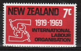 New Zealand 1969 Single Stamp To Celebrate 50th Anniversary Of International Labour Organisation. - New Zealand