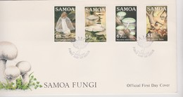 Samoa 1985 Fungi FDC - Samoa