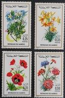 Morocco 1975 Flowers LOT - Morocco (1956-...)