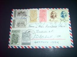 China - Luft - Brief  25.04.1957 / Peking Nach Döbeln ( Deutschland ) / Siehe Fotos - 1949 - ... Repubblica Popolare