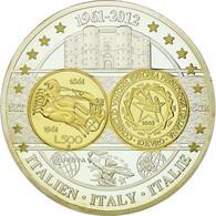 Italie, Médaille, Pièces Commémoratives D'Europe, 2012, FDC, Cuivre Plaqué - Italy